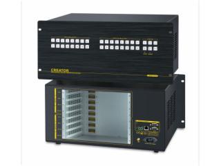 CR-VMAX1616-(模塊化結構主體機箱)16進16出混合矩陣主機