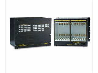 CR-VMAX3232-(模塊化結構主體機箱)32進32出混合矩陣主機