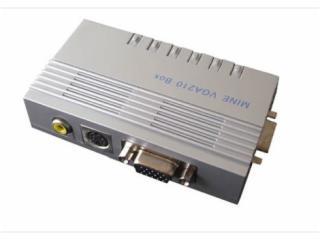VGA210BOX-AV转VGA转换器监控摄像机到监视器