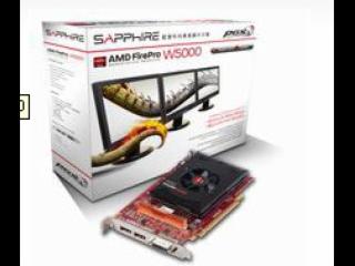 AMD FirePro? W5000-蓝宝 AMD FirePro? W5000