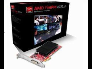 AMD FirePro™ 2270 PCI-E 2.1 X1-AMD FirePro™ 2270 PCI-E 2.1 X1