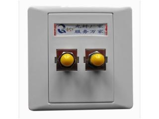QS-2ST-FP-SC/FC/ST/LC雙口光纖面板