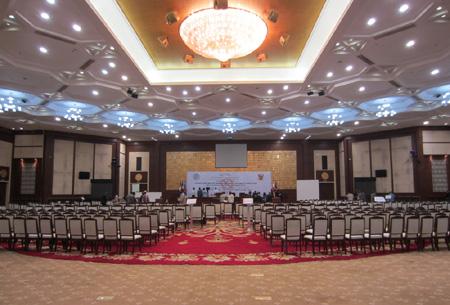 GONSIN公信为苏丹友谊厅构建会议中心整体解决方案