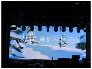P6-深圳顾通科技-四川P6高清全彩酒吧屏 舞台屏 室内表贴显示屏 smd显示屏