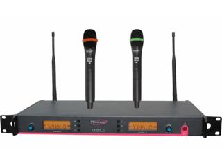 EM1000-雙通道手持無線話筒