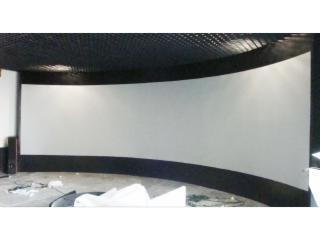 KL—ZT-GL100-科朗金属正投弧形幕