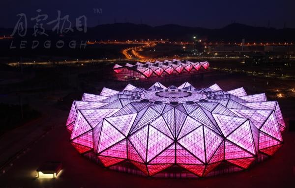 深圳大运会 LEDGOGHTM LED光艺术作品再现