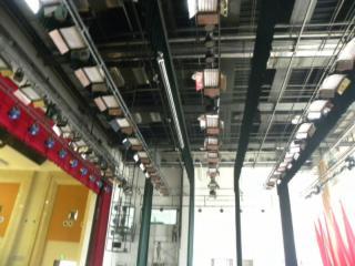 舞臺機械燈光吊桿機-舞臺機械吊桿機