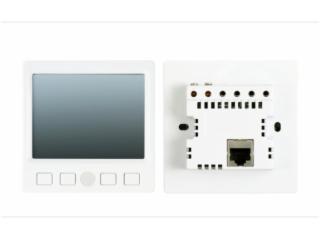 E350-嵌墙式3.5寸有线真彩触摸屏控制器