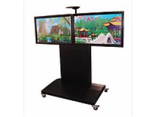 sp-2-双屏电视推车/双屏液晶移动支架座架