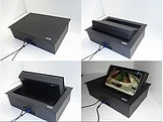 157-液晶電視顯示器桌面翻轉器/電視桌面升降器/隱藏式翻轉器
