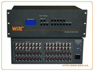 音视频矩阵切换器WIN-AV1616-音视频矩阵切换器WIN-AV1616【沃信】