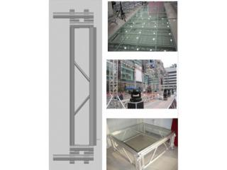 JJT-铝合金可拆装玻璃舞台