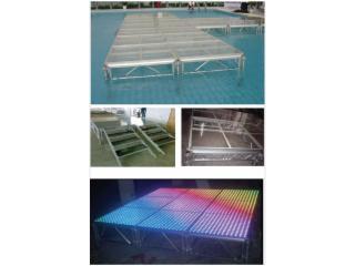 JJT-铝合金钢化玻璃舞台