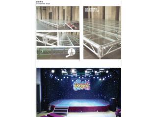 JJT-組合拼裝活動舞臺,鋁合金玻璃舞臺