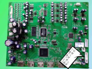 JZ-038HD-杜比DTS-HD7.1多声道音频解码板