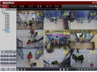 客流統計-智能視頻分析功能