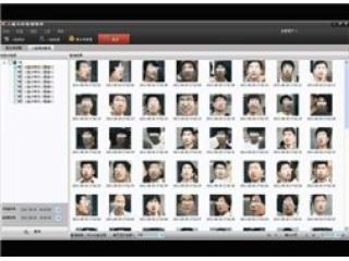 智能視頻分析功能-人臉識別圖片