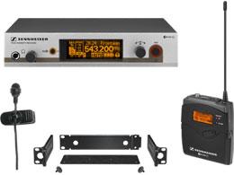 ew 322 G3-領夾式無線話筒套件