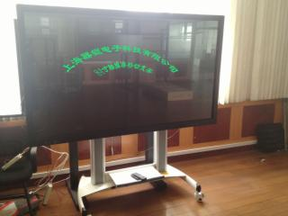 QK-84-1P-55寸~84寸移动电视触摸屏支架