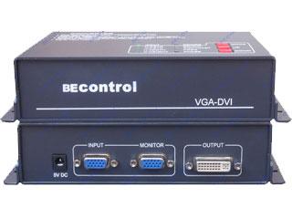 BEC-VD102-VGA入DVI-D出轉換器
