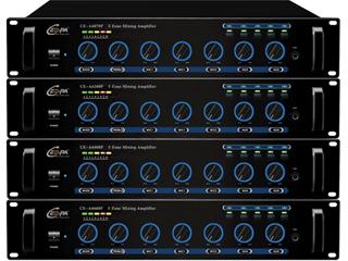 CE-6070P/6130P/6260P/6360P-带前置定压输出广播扩音机