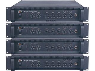 CE-1070P/1130P/1260P/1360P/1460P/1660P-帶前置五分區定壓輸出廣播擴音機