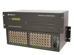 RGBHVA 视音频矩阵切换器-RGBHV0808A图片