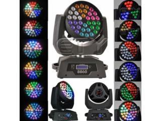 36顆10W四合一六圈效果搖頭燈-天悅燈光36顆10W四合一六圈效果搖頭燈