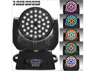 36顆10W四合一調焦搖頭燈3圈效果-天悅燈光36顆10W四合一調焦搖頭燈3圈效果