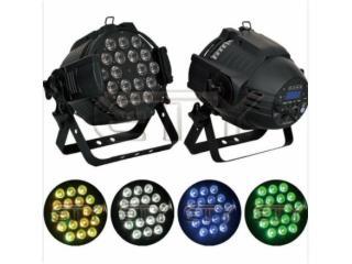 18顆10W四合一LED鑄鋁PAR燈-天悅燈光18顆10W四合一LED鑄鋁PAR燈