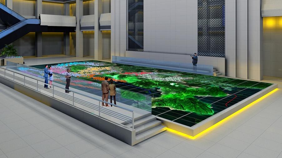 多维智能化数字媒体展示系统图片