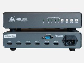 HS-2*1F4-HDMI 信号切换器