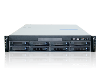 SV800-欧迅特OceanDat8盘位网络磁盘阵列/IPSAN网络存储设备