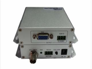62-3G-SDI轉VGA轉換器(VGA任意變頻輸出)