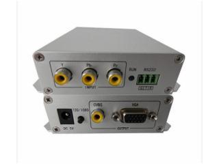 64-YPBPR(分量)轉VGA&CVBS轉換器(VGA變頻輸出)