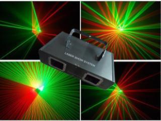 HX-028-雙頭紅綠激光燈