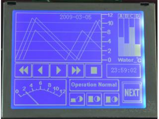 HTM320240F1-3.8寸320240可帶中文字庫LCD液晶模塊