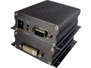 AD-101C-DVI轉VGA轉換器 AVIDOS中卜科技