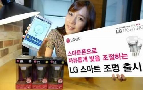 LG推出Smart Lamp智能灯泡