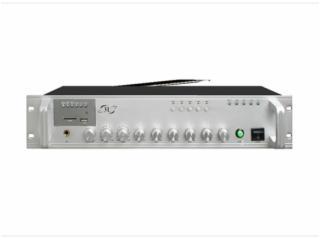 MP100B 系列-五分區帶音源合并式功放
