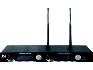 T-521UH-UHF段液晶显示可调频真分集无线话筒