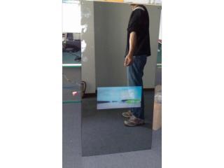 26寸-衛浴大鏡面電視定制,大鏡子防水電視定制