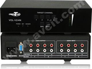 CRV-V4N-四路調音器