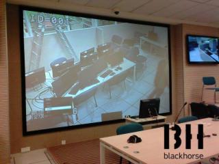 正投高增益金屬幕BHZJ-正投畫框硬幕 (2)