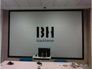 正投高增益金属幕BHZJ-正投画框硬幕
