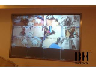 背投高清投影幕BHBG-高清背投--监控系统