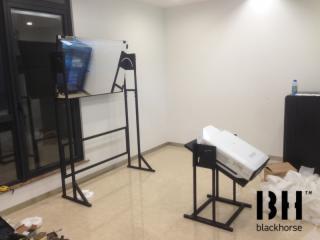 吊架-背投反射系統