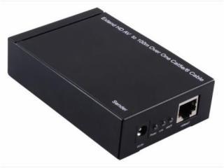 SCHU-02A-HDMI 100米單網線延長器(帶紅外遙控、遠程控制)