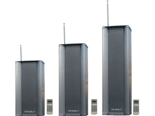 NK-W240W/W260W/W280W-调频铝合金室外防水音柱